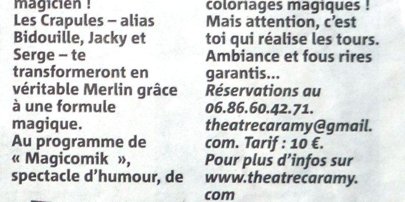 Article Caramy 26 nov 2011