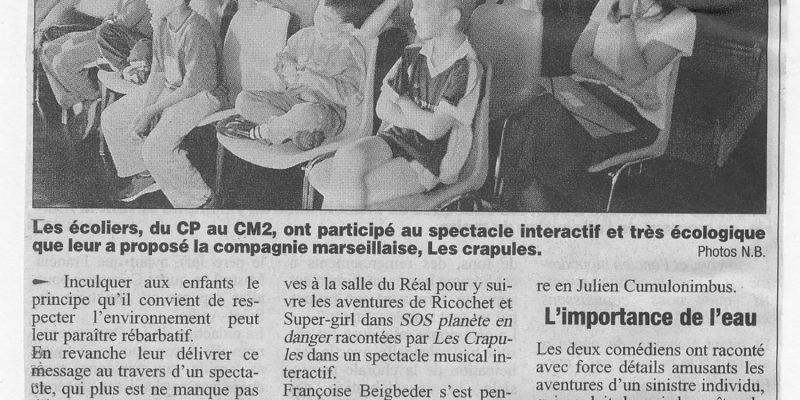 article la provence chateaurenard SOS 2004