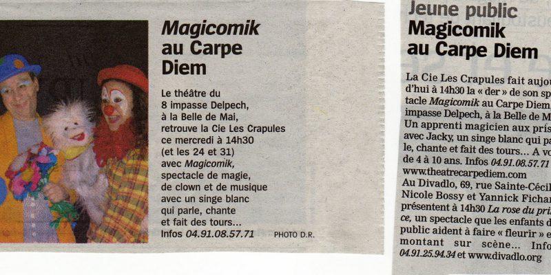 article magicomik marseillaise 2 janv07