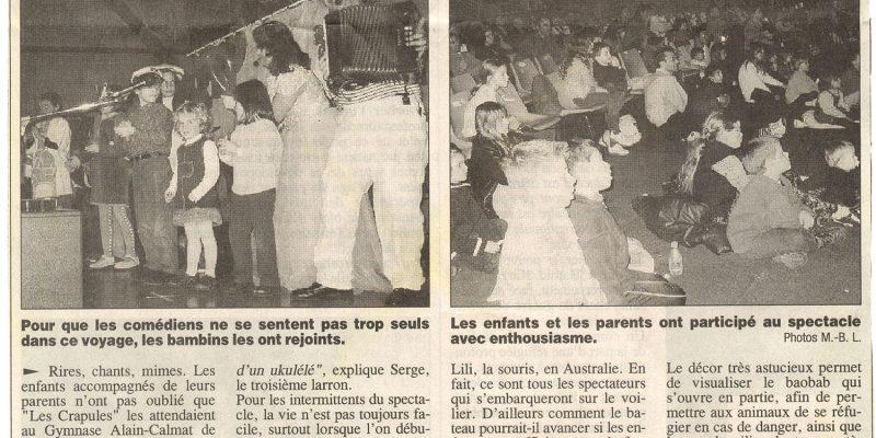 article regliss sausset 2003